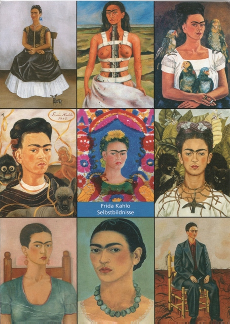 frida-self-portraits