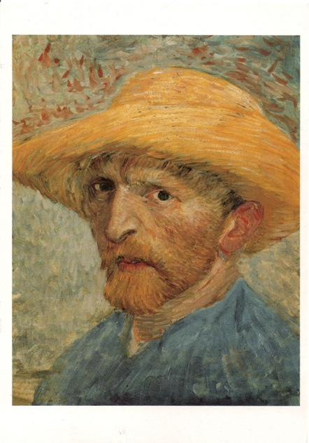 van-gogh-self-portrait, from Lunanai, Slovenia