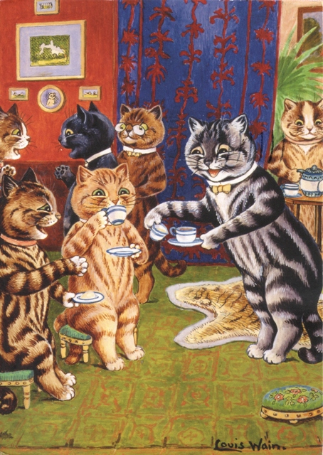 039, louis-wain-card from Wewuk