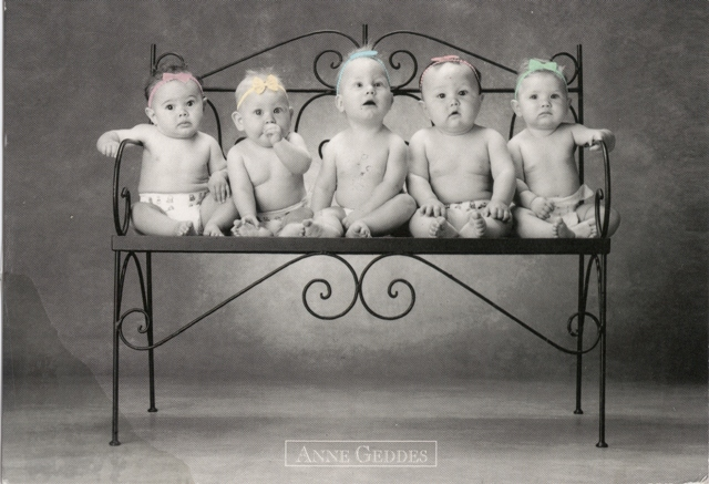 babies of Anne Geddes from Holland