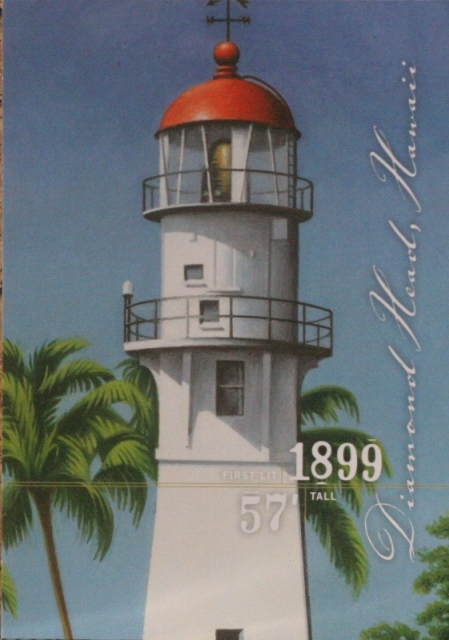 019, Diamond Head lighthouse, Hawaii, from silencedogwood
