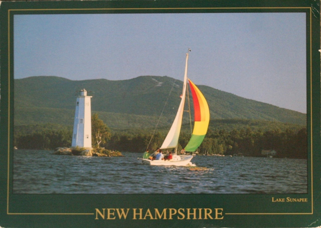 013 New Hampshire wooden lighthouse, USA, from Kristina