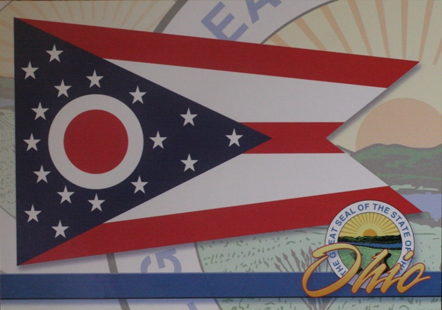 Ohio flag, from silencedogwood