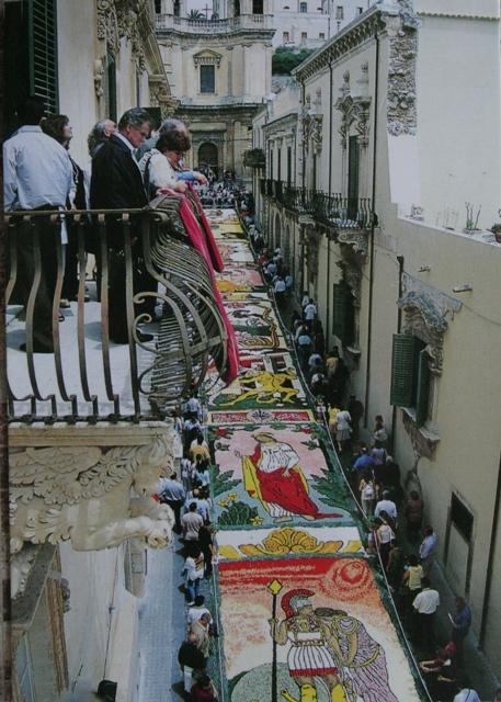 Infiorata, Sicilia, from Pipitta