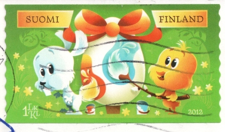 finland-easter-stamp