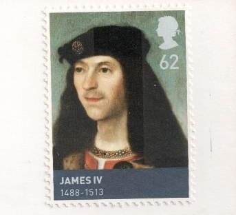 james-iv-stamp-uk