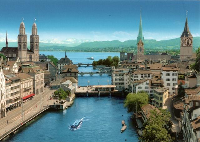Zurich from Annie