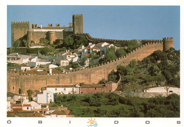 obidos castle, from kami