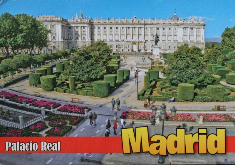 Madrid, the Royal Palace from cucutrashh