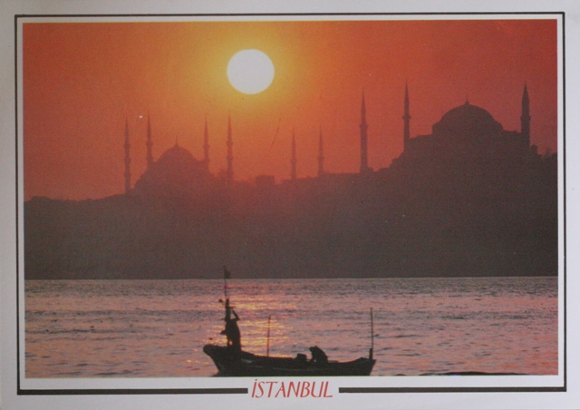 Sunset in Istanbul, from ctrekoza