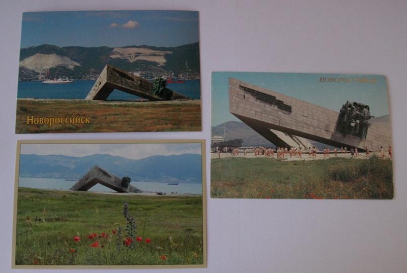 Novorossiysk-monumental-group-Malaya-Zemlya
